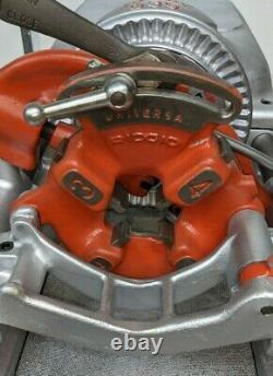 Ridgid 535 Pipe Threader Threading Machine, Great Condition