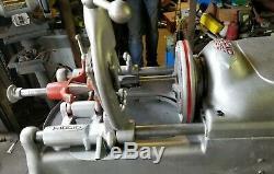 Ridgid 535 Pipe Threader Threading Machine Rigid 811 300 700