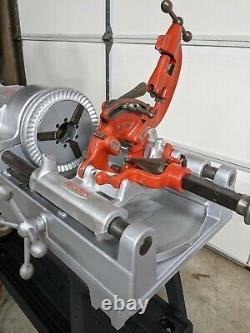 Ridgid 535 Pipe Threader Threading Machine with Stand CLEAN SEE PHOTOS