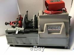 Ridgid 535 Pipe Treading Machine 115 V With Accessories Free Shipping
