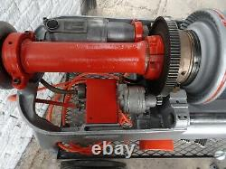 Ridgid 535 Pipe threader 1/2-2in Refurbished EXCELLENT threading machine