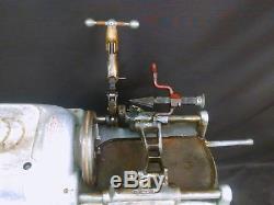 Ridgid 535 Portable Pipe Threading Machine withcart, variac, Set of Dies