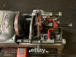 Ridgid 535 Threading Machine With Ridgid Cart And 3 Dies Included