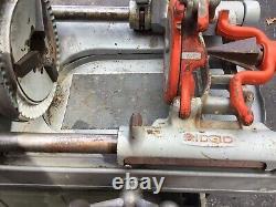 Ridgid 535 pipe threader Machine
