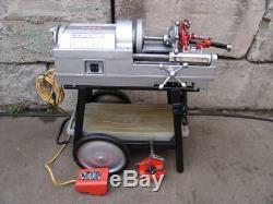 Ridgid 535 pipe threader threading machine 1/2 to 2 works great