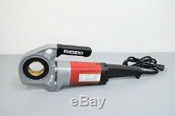 Ridgid 600 Hand Held Electric Pipe Threader Power Drive Threading Machine Tool