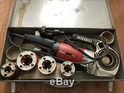 Ridgid 600 Pipe Threader Threading Machine & Pipe Cutters 12-r 00-r 3-s