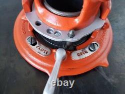 Ridgid 65r receding pipe threader 300, 535 1-2threading machine
