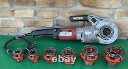 Ridgid 690 Pipe Threading Threader Machine 1/2-2 Dies rigid 300 700 #3