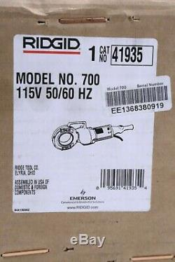 Ridgid 700 115 Volt Power Drive Hand Held Pipe Threader Machine Only Brand New