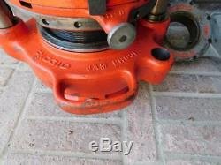 Ridgid 700 And 141 Geared Pipe Threader Threading Machine For 2-1/2 To 4