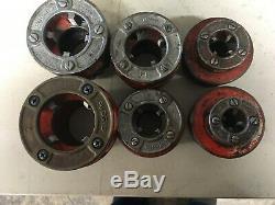 Ridgid 700 Hand Held Pipe Threader Machine with 6 Dies 1/2 To 2