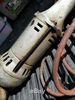 Ridgid 700 Model A Power Drive Pipe Threader Handheld Threading Machine ESTATE