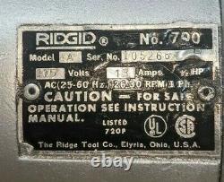 Ridgid 700 Pipe Threader, 115V Tested and ready to work
