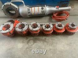 Ridgid 700 Pipe Threader Machine 1/2 To 2 Size