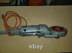 Ridgid 700 Pipe Threader Threading Machine