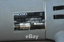 Ridgid 700 Pipe Threader Threading Machine New
