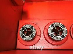 Ridgid 700 Pipe Threader Threading Machine With 7 Dies 1/2 To 2 Ratchet Head