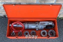 Ridgid 700 Pony Pipe Threader Threading Machine 1/2-2 Case rigid AWESOME #8