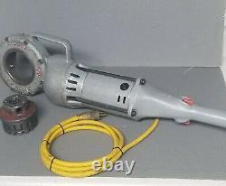 Ridgid 700 Portable Pipe Threader Threading Machine with 1/2 12R Die