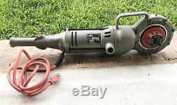 Ridgid 700 Portable Power Drive Pipe Threader Machine Tool Only 700-t2 Excellent