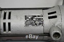 Ridgid 700 Power Drive Hand Held Electric Pipe Threader Threading Machine Tool
