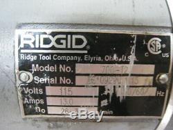 Ridgid 700 Power Drive Pipe Threader T2 ectric Handheld Threading Machine