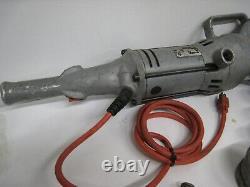 Ridgid 700 Power Drive Pipe Threader T2 ectric Handheld Threading Machine W Dies