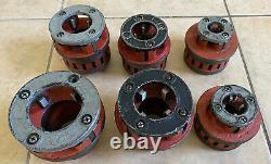 Ridgid 700 Power Drive Pipe Threader electric Threading Machine w 6 Die Heads