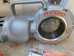 Ridgid 700 Power Pony Pipe Threader Threading Machine New Open Box