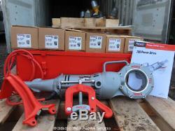 Ridgid 700-T2 Pipe Threader Electric Handheld Threading Machine 6-Heads bidadoo