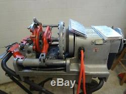 Ridgid 75602 52 RPM 300 Compact Pipe Threading Machine with 250 stand & 811A Heads