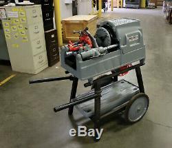 Ridgid 93287 Model 535 115v Threading Machine, 1/2 2 Npt