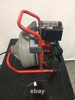 Ridgid Kollmann K-380 115V 1/3HP Drain Cleaner Drum Machine