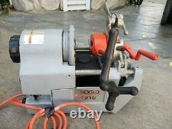 Ridgid Model 1210 OIL-LESS Threading Machine