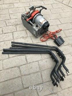 Ridgid Model 1210 OIL-LESS Threading Machine with Legs