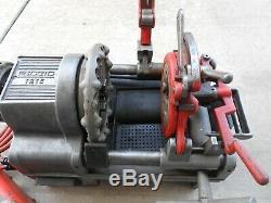 Ridgid Model 1215 Pipe Threading Machine Ridgid 300 535 700