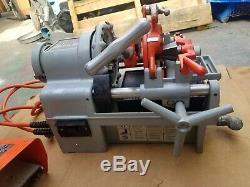 Ridgid Model 1215 Threading Machine