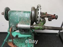 Ridgid Model 300 Portable Compact Threading Machine WithRidgid 1206 stand