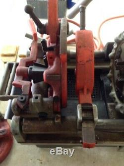Ridgid Pipe Threader 1215 D 1215D Threading Machine with pedal Free Shipping
