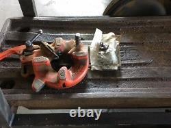 Ridgid Pipe Threader Model 1822-i Rigid With 2 Die Heads