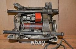 Ridgid model 400 power pipe threader 110 v treading machine plumbing tool