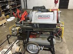 Rigid 12/24 Threading Machine