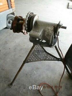 Rigid Pipe Threader Machine M/n0# 300 With Cutter Head #521900b Used