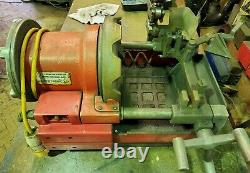 Rothenberger 3S pipe threading machine 110v threader cutter and reamer
