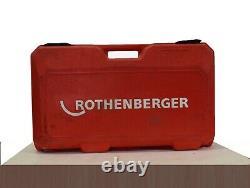 Rothenberger Supertronic 2000 Power Threader / Cutting Machine, Model 71259L