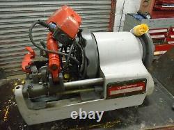 Rothenberger Supertronic 3se 110v Pipe Threading Machine