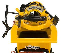 Steel Dragon Tools 1224 Pipe Threading Machine 150A Cart fits RIDGID 26092