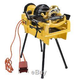 Steel Dragon Tools 1224 Pipe Threading Machine fits RIDGID 26092 711 Die Head