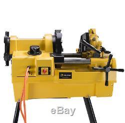 Steel Dragon Tools 1224 Pipe Threading Machine fits RIDGID 711 Die Head 26092